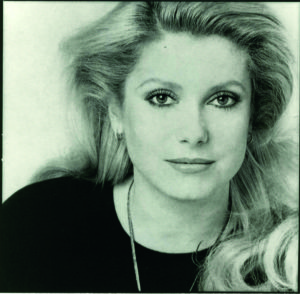 Catherine Deneuve, attrice, Parigi 1979
